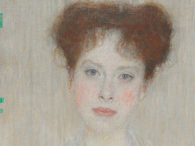 Gustav Klimt: Retrato de Gertrud Loew