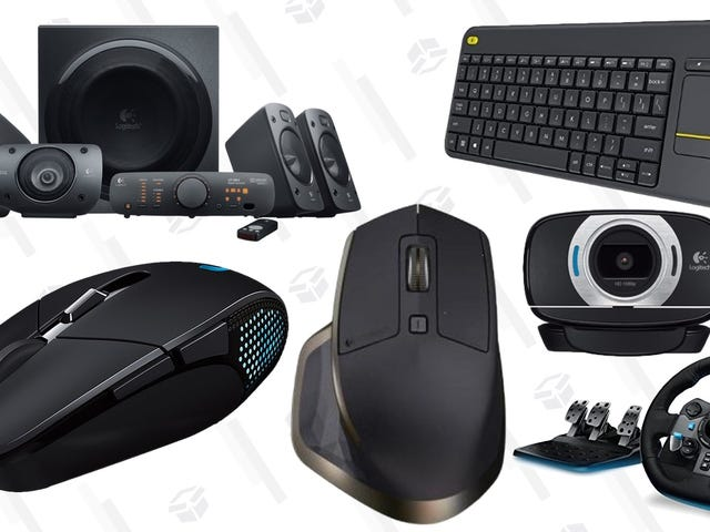 Amazon's Blowing Out a Bunch of Popular Logitech Peripherals, Today Only