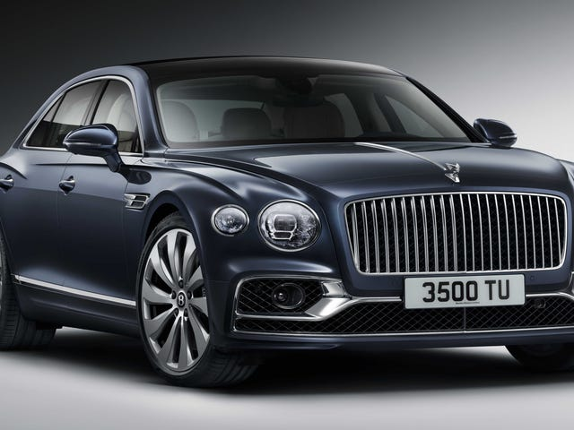 The 2020 Bentley Flying Spur is for When a Whole Building Needs to do 207 MPH