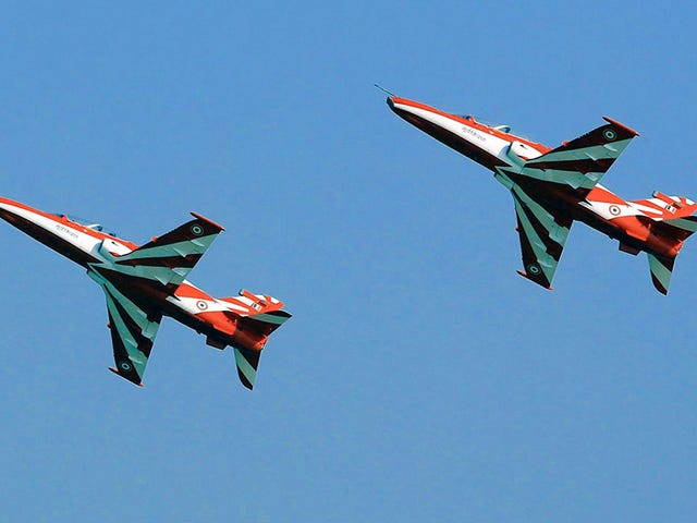 Indian Air Force Jets Collide During Air Show Practice