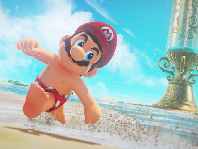 Shirtless Mario Leads To Widespread Pandemonium