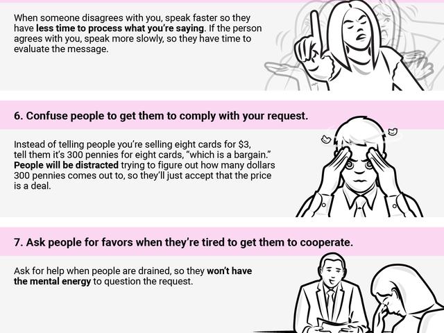 이 11 가지 영리한 심리학 기술로 사람들이 원하는 것을해라.