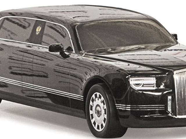 Russian President Vladimir Putin Is About To Get His Own Special Limo