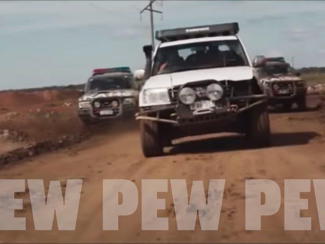 The Chase Car In Son of a Gun tiene Land Cruiser a la deriva y violencia