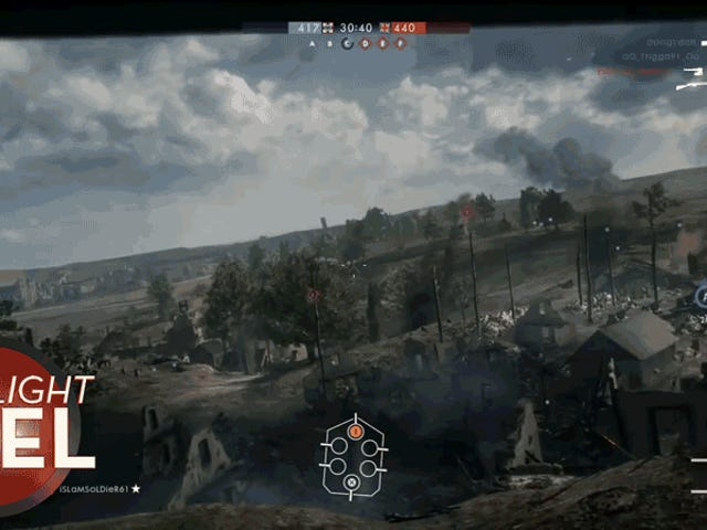 <i>Battlefield</i> Tank Guy A Shot Of Cehennem yapar