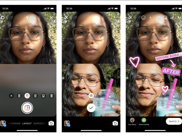 如何使用Instagram的新版式模式