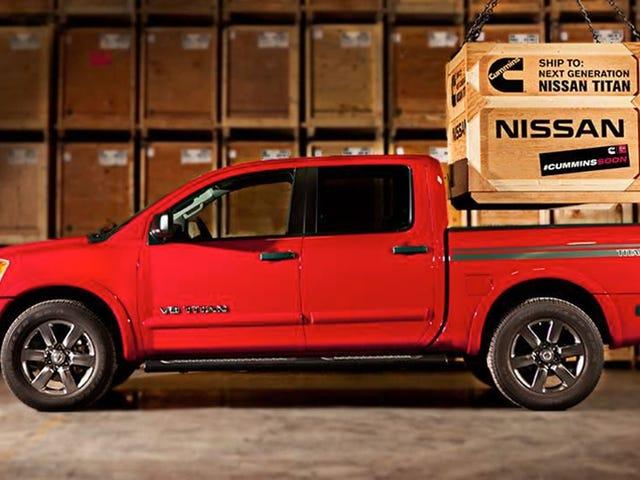 Nissan Renewing Promise Of 5.0 Cummins Turbodiesel Titan 'Coming Soon'