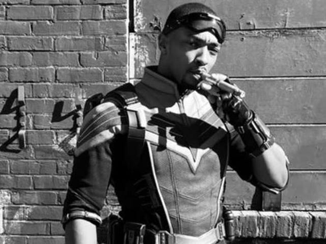 Our Latest Look at The Falcon and the Winter Soldier Is Smokin'