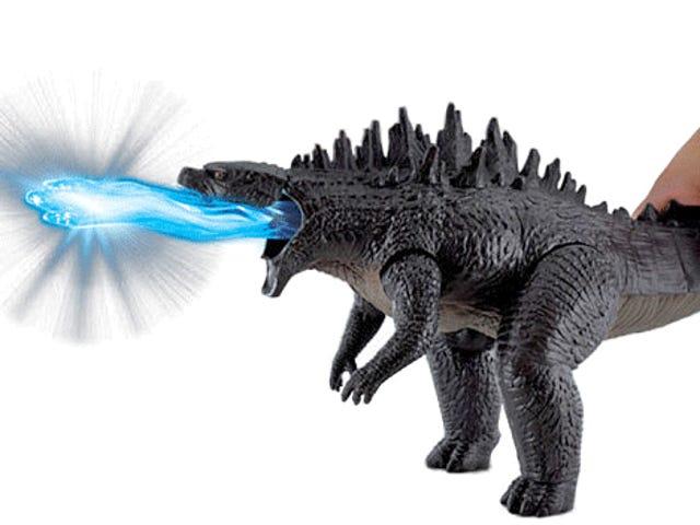 Denna Godzillas atomabörtning försvinner som om han är svärdsvallare