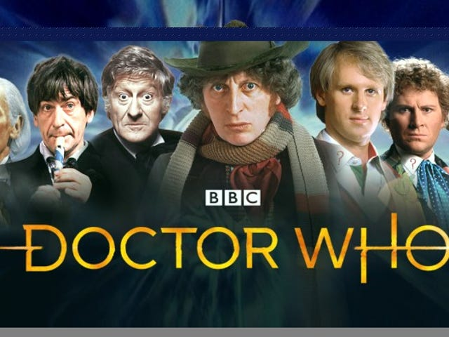 In Case You Missed the io9 or Giz Article, Twitch Is Streaming a 500+ Episode Classic Doctor Who Marathon