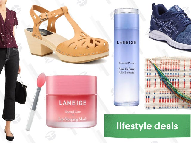 Tuesday's Best Lifestyle Deals:Laneige, ASICS, Swedish Hasbeens, and More