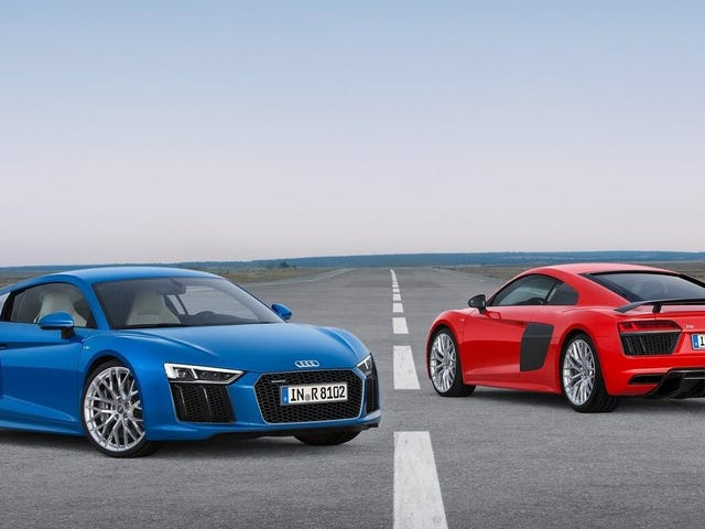 The Audi R8 May Be Going RWD For Some Reason