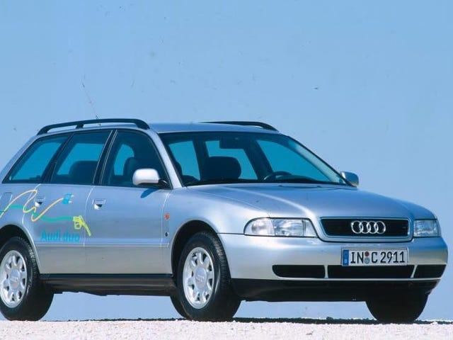 Ang 1997 Audi A4 Avant duo Ay Isang Hybrid Diesel Wagon na Hindi Kami Nakakuha