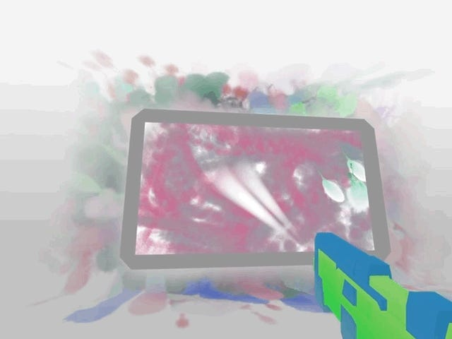 Paintball Game Brings Out Your Inner Artist
