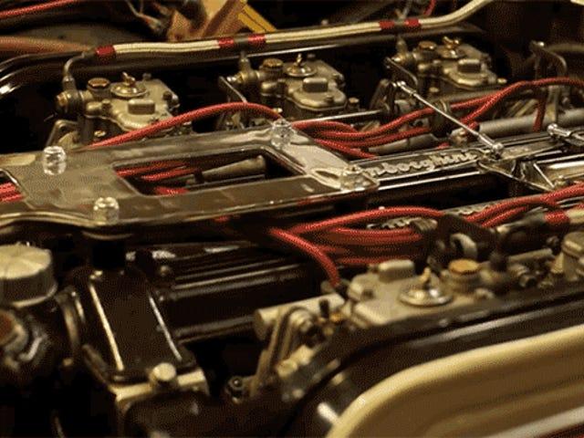 Isang Vintage Lamborghini Nagbibigay sa Iyo ng Bagong Pamilya, Tulad ng Isang Maluwalhati V12