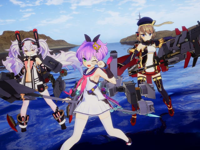 That Anime-Women-As-Battleships Game Comes To PS4 And Steam Next Month