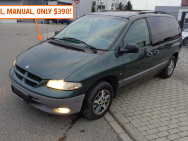 Germany Is Full Of Diesel Manual Chrysler Minivans And They Are Dirt Cheap