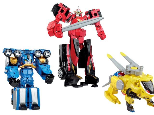 An Exclusive Look at the Amazing New Zord Toys Coming With Power Rangers: Beast Morphers