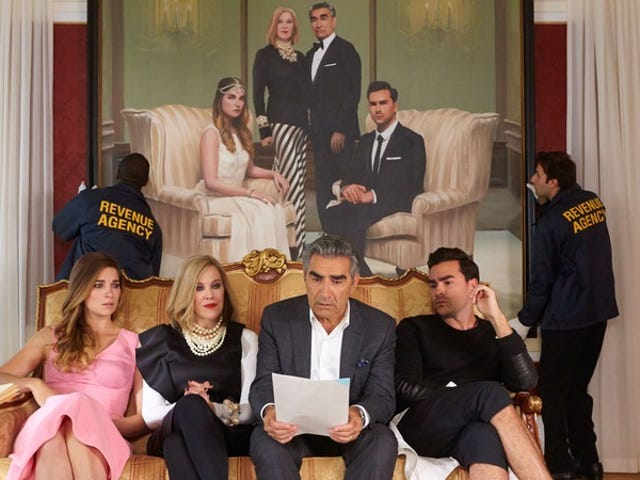 David! Schitt's Creek has been renewed for sixth and final season