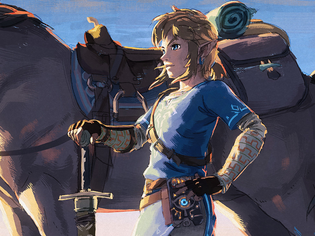 Zelda: Breath Of The Wild Is Getting A Second Wind Thanks To Switch Update