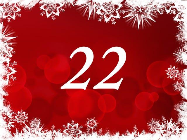 The TAY Advent Calendar: Day 22