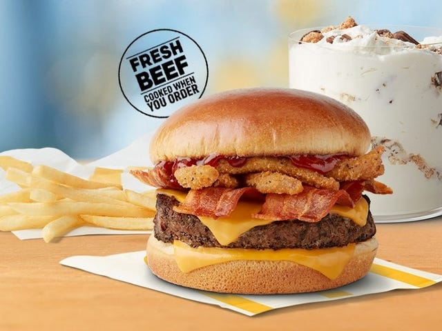 Eat McDonald's new salt bomb burger today, hibernate tomorrow