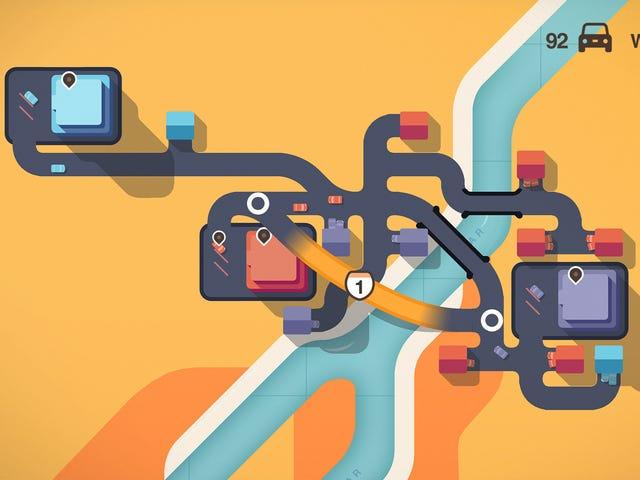 Highway Planning Game Virkelig understregede, hvor ineffektive biler er