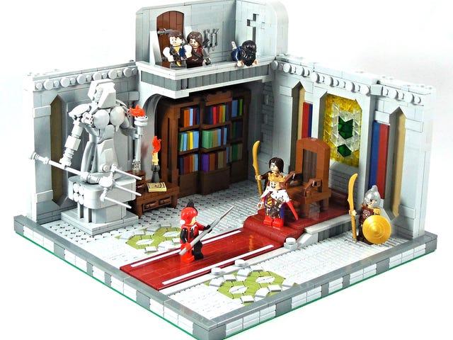 Ang Lego king na ito ay hindi mahaba para sa mundong ito