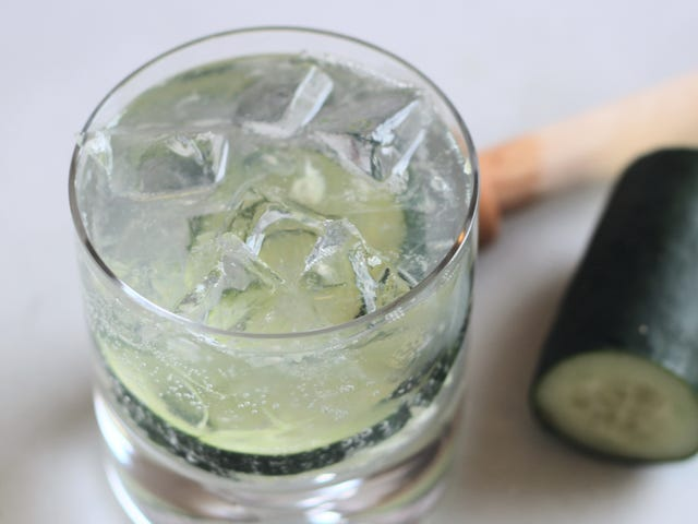 Make This Smashed Cucumber Gin & Tonic