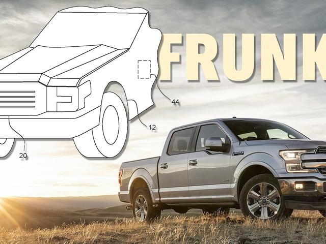 La patente muestra que el Ford F-150 eléctrico se va a poner un poco grande