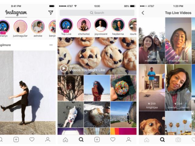 Instagram故事permitecompartirviíondeen directo y enviar mensajes privados con caducidad
