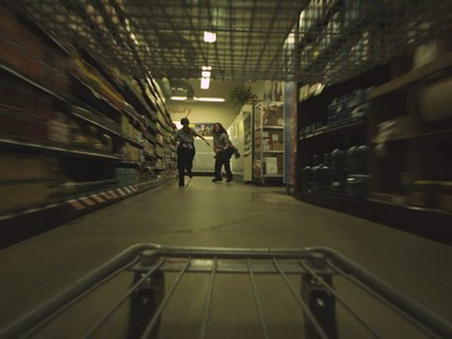 A Gory, Goofy Short Film About A Murderous Shopping Cart Out For Revenge