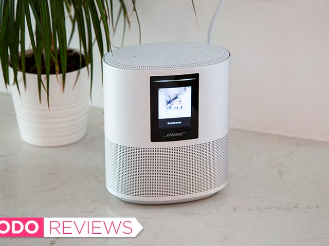 Bose's Fancy Home Speaker Might Be the Best Sounding Echo Alternative Yet