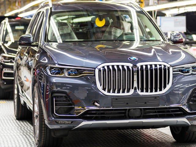BMW Keeps Its Title as America's Top Auto Exporter by Value