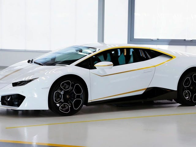 The Pope's Lamborghini Huracan Sold For Almost $1 Million
