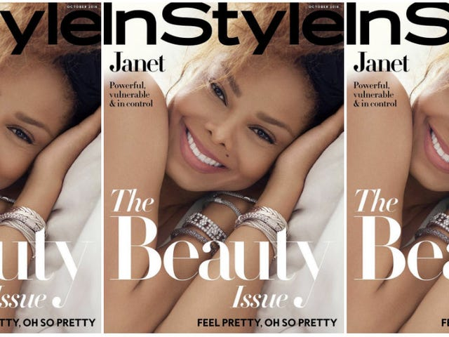 Made for Now: Janet Jackson's Beauty Is Eternal on October's InStyle