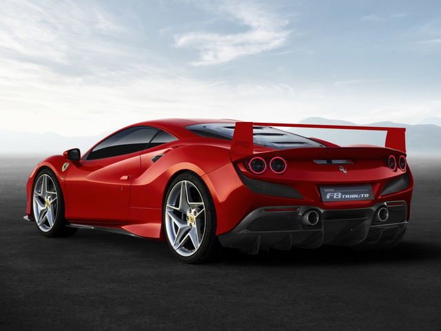 If it is supposed to pay tribute to the F40...