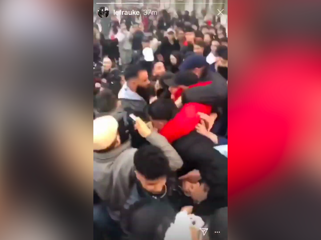 Giant Brawl Ensues After Dueling YouTubers Tell Their Fans To Meet Up