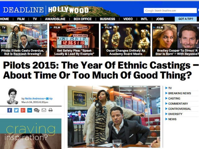 Diversity on TV Is Scary, Reports White Woman