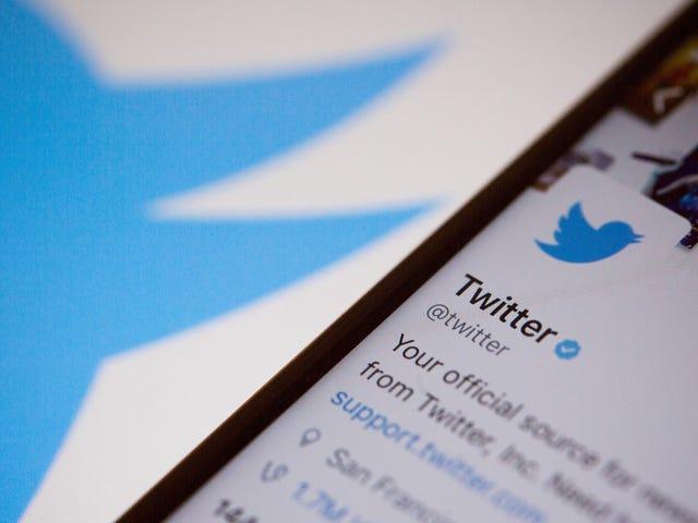 Twitter menerapkan kejahatan yang tidak dapat menyalahi undang-undang