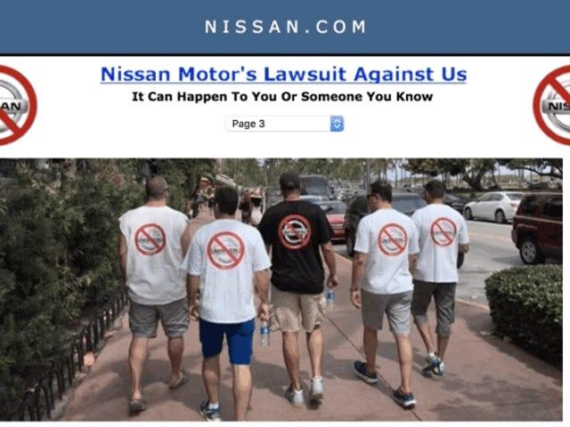 Uzi Nissan pasó 8 años luchando contra la compañía de automóviles con su nombre.  Él casi perdió todo para ganar