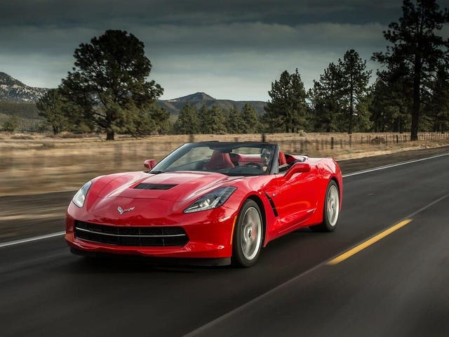 A Corvette Convertible Ended Up On This List Of Least-Driven Cars
