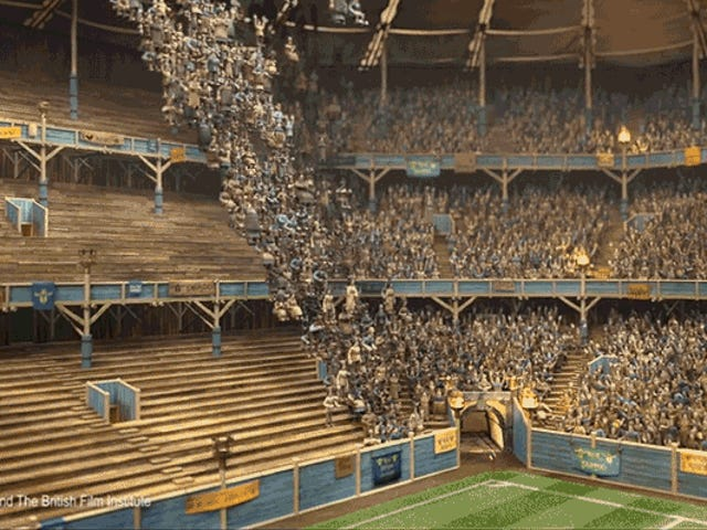 How Aardman's Stop-Motion Animators Used VFX Shortcuts to Create Thousands of Sports Fans