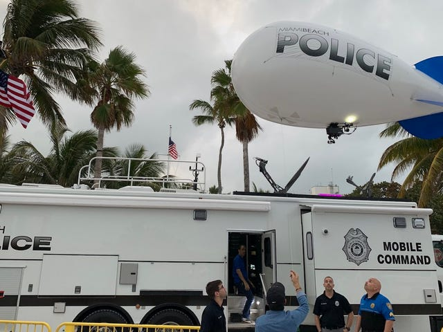 Miami Beach Cops Use Tethered Blimp for Surveillance to Get Around Drone Ban