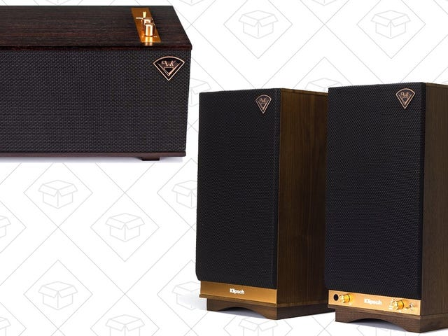 Save Big On Your Choice of High-End Klipsch Audio Gear, Today Only