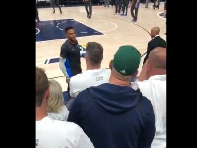 "Utah Jazz Permanently Ban Another Fan, Who Called Russell Westbrook ""Boy"" In 2018 Playoffs"