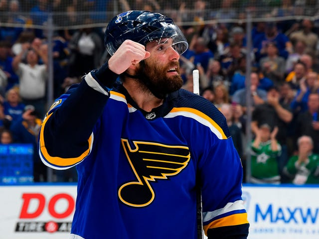 Patrick Maroon Did It For St. Louis