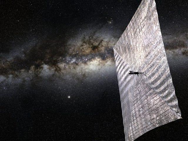 Solar sails and ancient aliens