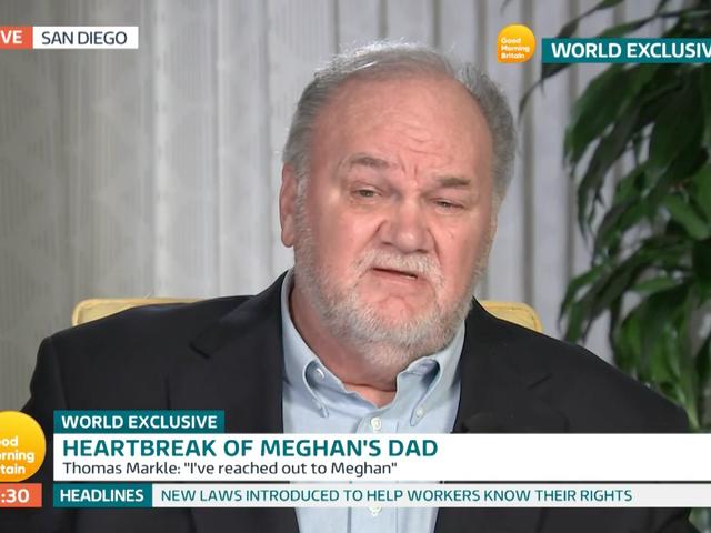 """Тато Мегана Маркла встигає ще раз, закликає Меган """"Контролювати"""""""