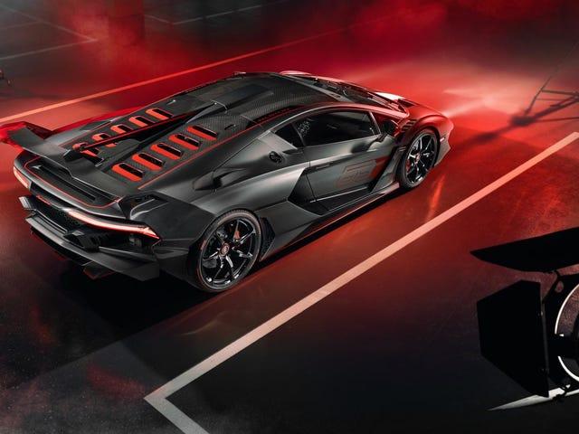 Lamborghini SC18 on Lambon uusin kertaluonteinen ja se on koko erä